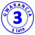 trzy lata gwarancji]