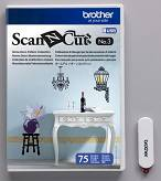 Wzory do Home Deco Brother ScanNcut - 75 wzorów - CAUSB3