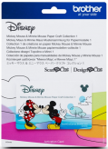 Wzory Disney Mickey & Minnie Mouse Brother ScanNcut - 26 wzorów - CADSNP01